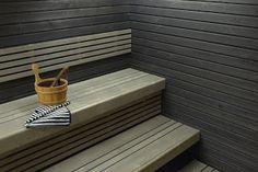 seinäpanelit mustalla saunavahalla?