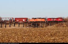 RailPictures.Net Photo: IR 5 Illinois Railway EMD CF7 at Ladd, Illinois by Nick Hart