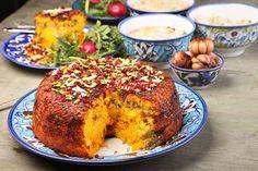 تهچین شیرازی - آشپزی و شیرینی پزی سانازسانیا