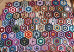 Granny hexagons