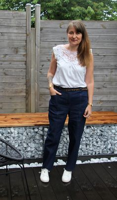 Opian sewing pattern - Vaulion Trousers and Shorts / Patron de couture Opian - Pantalon et Short Vaulion Short Court, Sewing Patterns, Trousers, Normcore, Shorts, Inspiration, Style, Fashion, Sewing