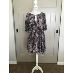 Free people dress This super cute free people is perfect for any one and this super cute lavender will look great on anyone. Free People Dresses Mini