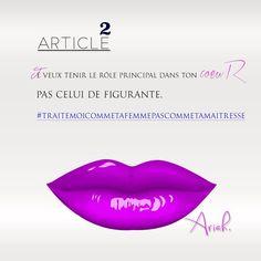 ARTICLE 2. Je veux tenir le rôle principal dans ton coeur. #citationsfillesphotos #igers #citations #imagedujour #citationsdujour