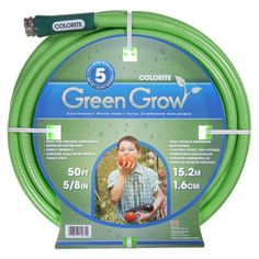 Colorite Green Grow Water Hose for organic gardening from Bambeco.com #saferbrand  #MyOrganicGardenWishList