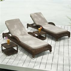 Alexander Rose Colonial Rattan Sun Lounger With Cushion