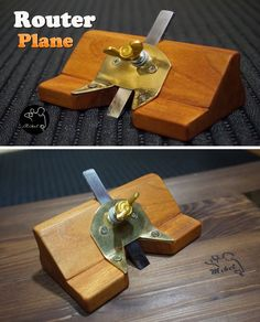 How to make a router plane.
