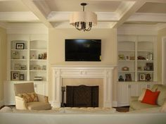 Holz Residence - traditional - Living Room - Charlotte - Hardwood Creations