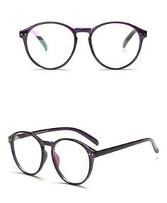 71ad45827d95 Retro Round Womens Eyeglass Frames Brand Designer Optical Clear Lens Eyewear  Unisex Vintage Eyeglasses Frames For Mans