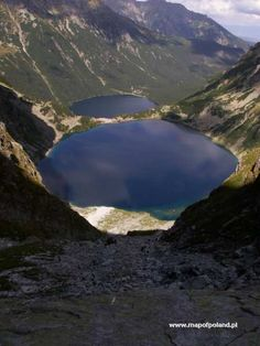 Czarny Staw - Zakopane  this is the area of Poland my mother's father is from