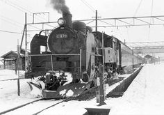 只見線小出駅で出発を待つC11 19牽引の137列車です。当時は只見線がまだ全通しておらず大白川駅が終着駅になってました。 '71.1.2