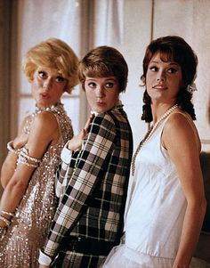 Julie Andrews, Mary Tyler Moore, Carol Channing; Thoroughly Modern Millie... Such a fun movie.