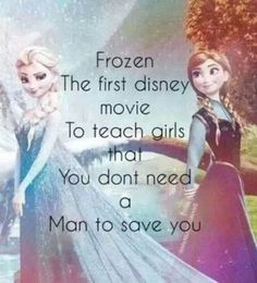 this is why I love Frozen