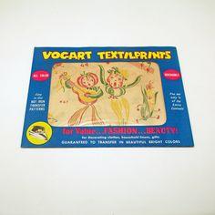 Vintage Vogart Transfer Patterns Anthropomorphic Fruit Musical Animated Vegetables by efinegifts on Etsy
