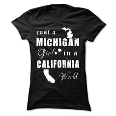 MICHIGAN - CALIFORNIA, Order HERE ==> https://www.sunfrog.com/States/MICHIGAN--CALIFORNIA-76624626-Ladies.html?6782, Please tag & share with your friends who would love it , #christmasgifts #renegadelife #birthdaygifts