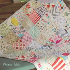 Gorgeous quilt how-to + linky party