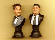 BUY: Neil Sims Laurel and Hardy Original Busts