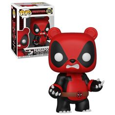 Funko POP! Marvel Deadpool Playtime #328 Pandapool - New, Mint Condition. #Funko #FunkoPop #Deadpool #Collectibles