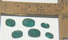 Emerald Facet Zambia Up To 5mm 2.82 Carats