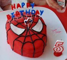 Spiderman Party Birthday Cake Special Birthday, Birthday Bash, Birthday Parties, Birthday Ideas, Spiderman Theme Party, Superhero Cake, Party Gifts, Holiday Parties, Party Planning