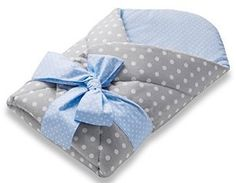 Baby Swaddle by The Gorgeous 1 - Swaddle Blanke with Built in Removable Coconut Pad for Neck and Back Support, Hypoallergenic, Baby Shower Gift 0-4 months (Blue): Amazon.co.uk: Baby