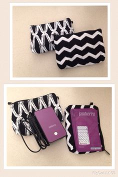Thirty one mini zipper pouch with Jamberry mini heater