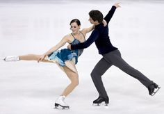 Tessa Virtue and Scott Moir of Canada skate in the Ice Short Dance during ISU Rostelecom Cup of Figure Skating 2012 at the Megasport Sports Center on November 2012 in Moscow, Russia. Get premium, high resolution news photos at Getty Images Virtue And Moir, Tessa Virtue Scott Moir, Figure Skating Olympics, Rostelecom Cup, Tessa And Scott, Figure Poses, Ice Dance, Winter Olympics, Ice Skating