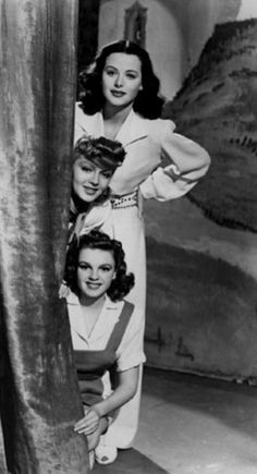 Zigfield Girl (1941)- Hedy Lamarr, Lana Turner and Judy Garland