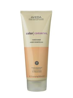 Conditioner - Aveda Color Conserve Conditioner. This hydrating (and heavenly scented) conditioner pampers hair—and the planet. Organic color-guarding ingredients like cinnamon oil and wintergreen protect your dye job from fading in the sun; antioxidants shield hair from free-radical damage. Allure - 2011