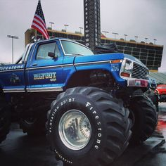 Monster Truck Discovery — fullermoto:   The original #BIGFOOT this old girl...