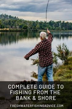 Complete Guide to Fishing From Bank and Shore In this complete guide, we show you how to fish from the shore and other bodies of water when you don't have a boat. Furthermore, we teach you how to fish Pike Fishing Tips, Walleye Fishing Tips, Fishing Guide, Best Fishing, Fishing Tricks, Catfish Fishing, Fishing Videos, Fishing Stuff, Going Fishing