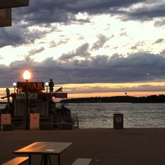 My view of West Lake Okoboji from work at Arnolds Park a couple summers ago...awesome!