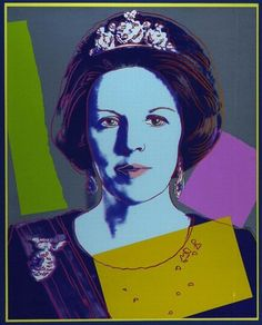Queen Beatrix Of The Netherlands - Andy Warhol