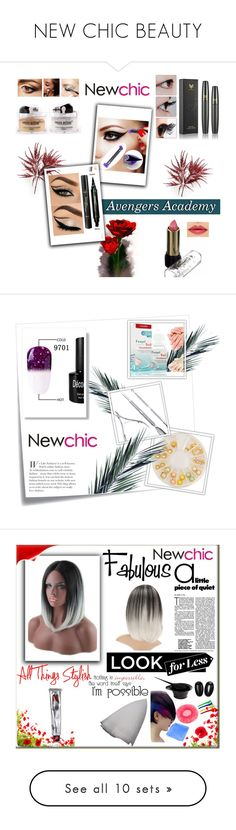 """NEW CHIC BEAUTY"" by velci-987 ❤ liked on Polyvore featuring beauty, Post-It, WALL, H&M, Tiffany & Co., Misha, Polaroid, BoonTheShop and MAC Cosmetics"
