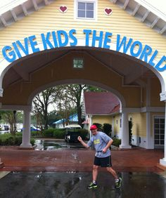 Give Kids The World volunteering