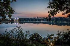 Sunset Over The Bay by Aleksi Lausti Photography River, Sunset, Photography, Outdoor, Outdoors, Photograph, Fotografie, Photoshoot, Sunsets