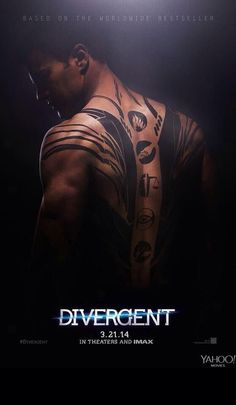 Theo James as Tobias Eaton-Divergent. I seriously want a big movie poster of THIS and secretly keep hung in my closet...