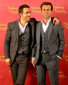 Can You Tell the Celebrity From the Wax Figure?: Ryan Reynolds celebrated his birthday in Oct. 2013 by meeting his wax figure in New Orleans, LA.