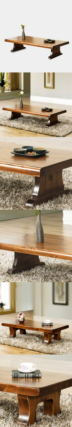 Modern Center Table Large Size 150*70cm Living Room Furniture Floor Wooden Table For Home Solid Wood Center Table Decoration $319