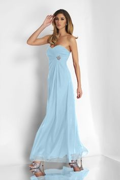 Pleated,Strapless,Sweetheart Style 4100 Bridesmaid Dress by Alexia Designs - color Tiffany Empire Bridesmaid Dresses, Bridesmaid Dresses Online, Bridesmaid Dress Styles, Bridesmaid Ideas, Wedding Bridesmaids, Chiffon Dress Long, Red Chiffon, Strapless Dress Formal, Formal Gowns
