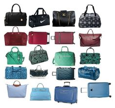 """""""Luggage"""" by amandagailadey ❤ liked on Polyvore featuring NIKE, Chanel, Roxy, MICHAEL Michael Kors, Ben Sherman, Madewell, Alexander McQueen, CalPak, Vera Bradley and Louis Vuitton"""