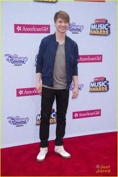 Calum Worthy at the Radio Disney Music Awards 2015