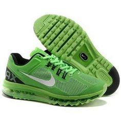 on sale 90117 5c3fa ... cheap air max 95 for menmens cheap nike air max 2013 trainers green  black white 86fe9