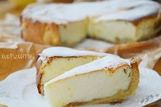 sult_turotorta_8 Healthy Desserts, Sweet Recipes, Camembert Cheese, Tart, Sweet Tooth, Cheesecake, Fondant, Favorite Recipes, Sweets