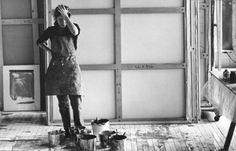 rea-poulharidou: Helen Frankenthaler, New York, 1969