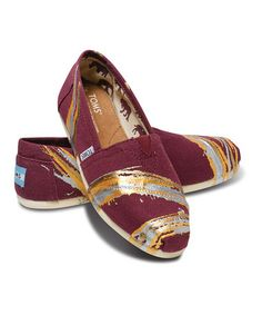 Take a look at this Tyler Ramsey Splatter Wine Classics - Women by TOMS on #zulily today!