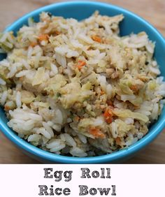 These Egg Roll Rice