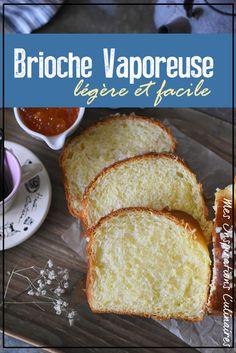 brioche vaporeuse recette facile