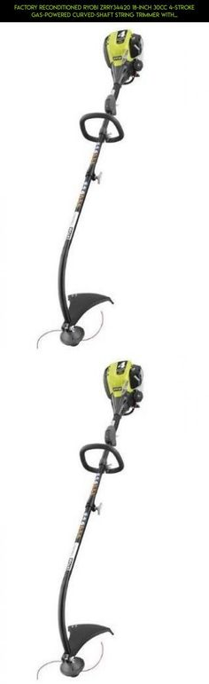Factory Reconditioned Ryobi ZRRY34420 18-Inch 30cc 4-Stroke Gas-Powered Curved-Shaft String Trimmer with Detachable Shaft (Discontinued by Manufacturer) by KMS, Inc #parts #fpv #products #camera #drone #racing #4 #tech #shopping #kit #stroke #plans #trimmers #technology #gadgets