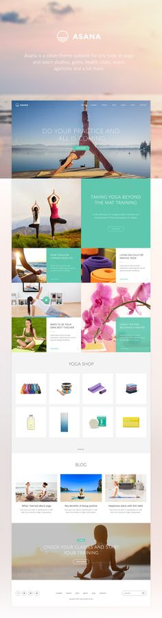 Asana Theme on Behance