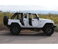 Jeep Wrangler. Really like the tires
